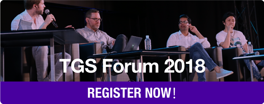 TGS Forum 2018 Registrations will start late July!